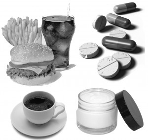 health myths: coffee, fast food, pills and face creams