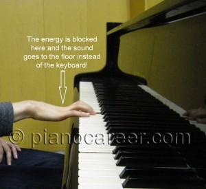 Ilinca Vartic demonstration incorrect hand position